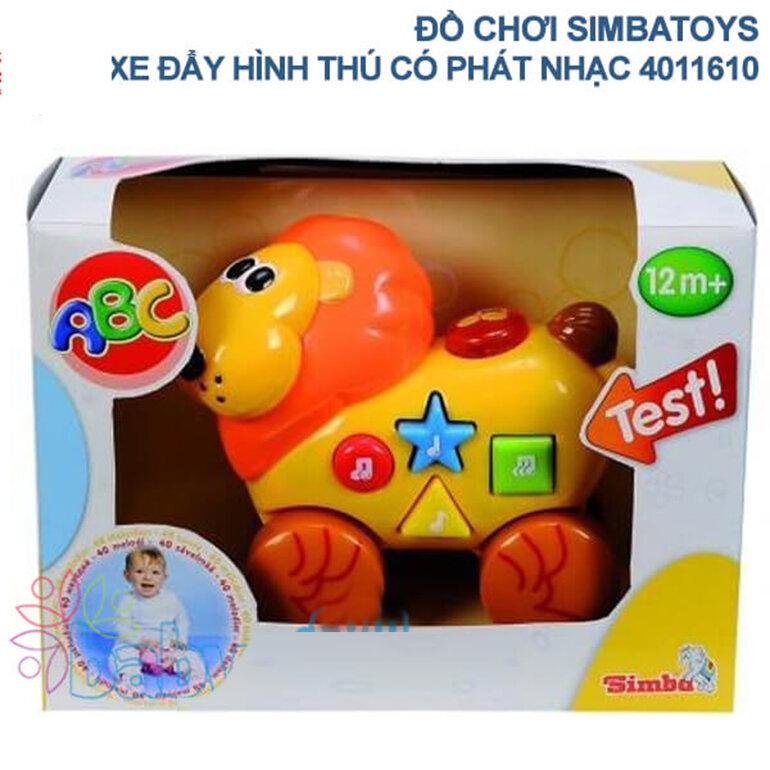 Xe đồ chơi có nhạc Simba Toys 4010033