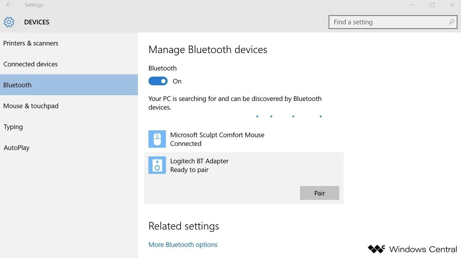 Cách mở bluetooth dễ dàng trên hệ điều hành Windows 10