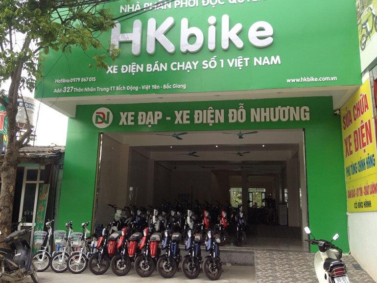 HKbike là nhãn hiệu xe điện quen thuộc với nhiều người dùng (Nguồn: pega.com.vn)