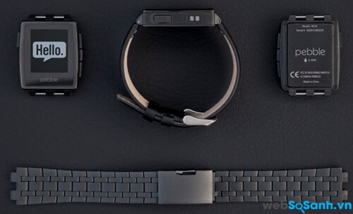 Pebble Steel Matte Black. Nguồn Internet
