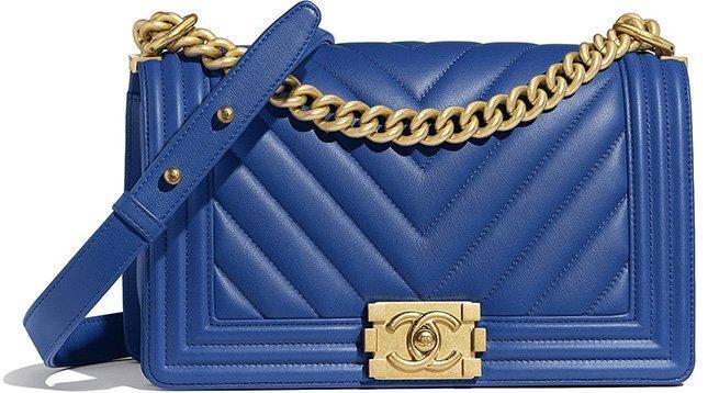 Chanel Medium Boy Chevron Bag (Old Medium)