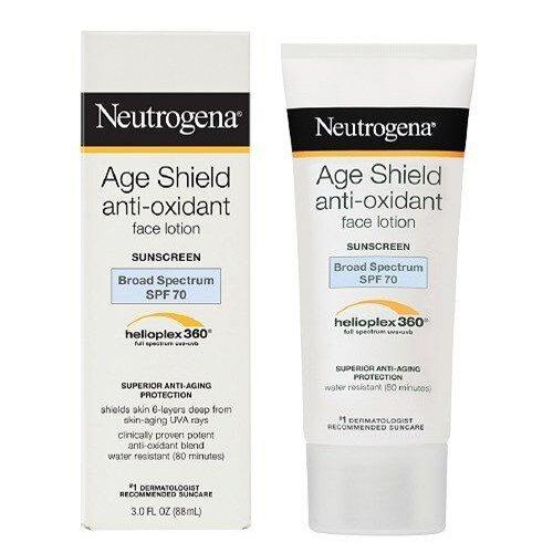 Neutrogena Age Shield Anti-Oxidant Face Lotion SPF 70