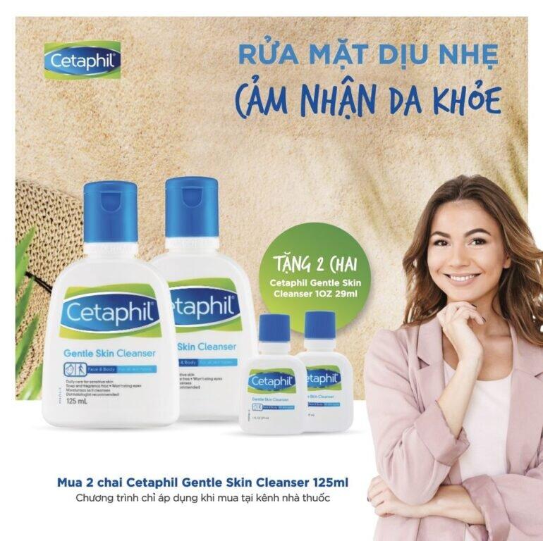 7 cách mua sữa rửa mặt Cetaphil chính hãng