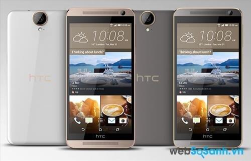 HTC One E9 Plus có thiết kế nguyên khối đậm chất của dòng Desire