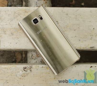 Điện thoại Samsung Galaxy Note 5 phiên bản Vàng Bạch Kim