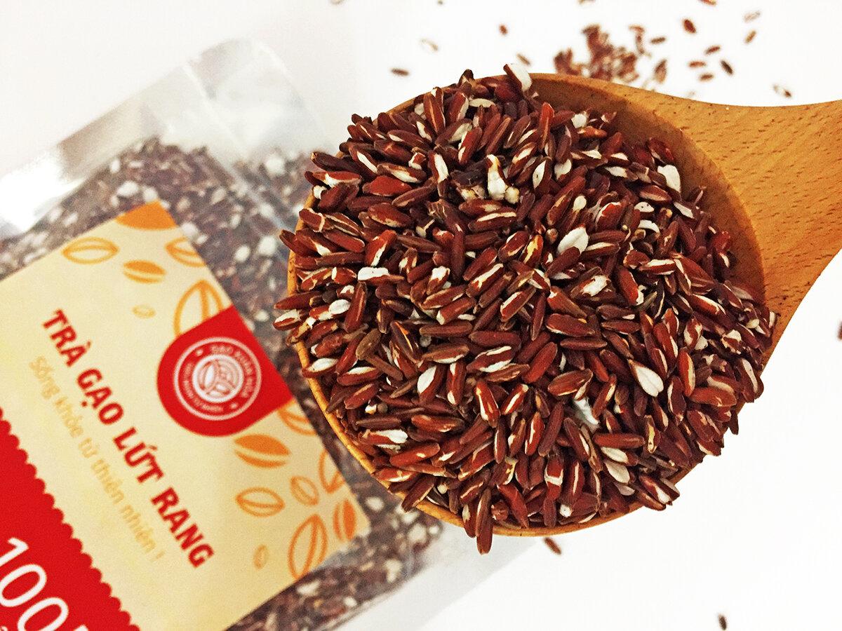 Gạo lứt sấy, ăn liền cũng có thể hỗ trợ bạn trong quá trình giảm cân