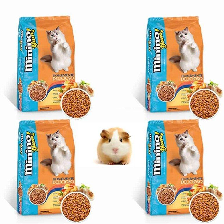 Thức ăn cho mèo Minino có hàm lượng dinh dưỡng cân bằng và khoa học
