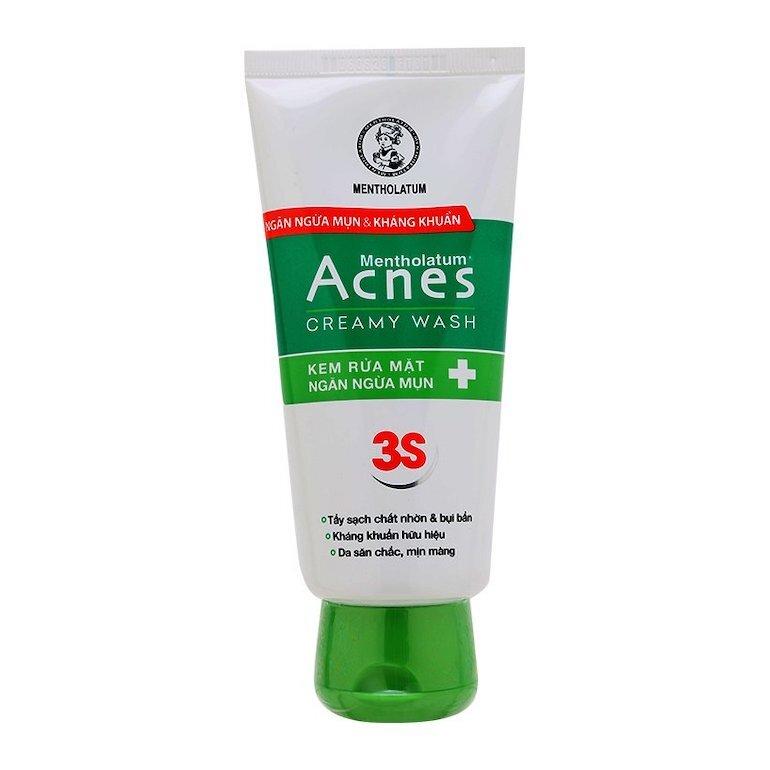 Top 3 sản phẩm sữa rửa mặt Acnes cho nam tốt nhất hiện nay