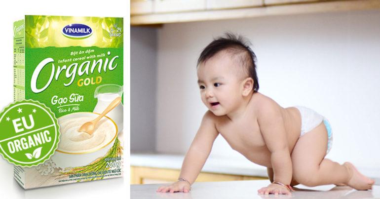 cách pha bột ăn dặm organic   Món Miền Trung