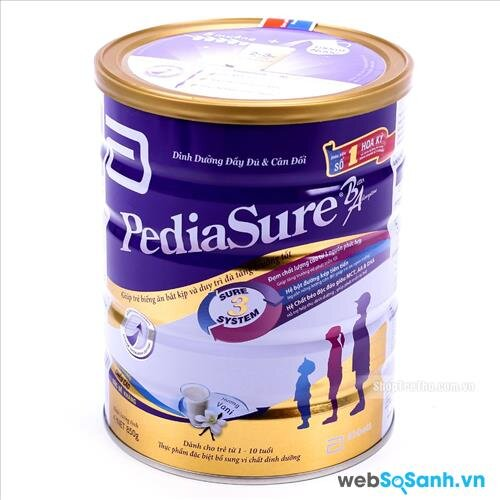 Sữa bột Abbott Pediasure B/A (nguồn: internet)