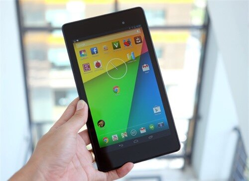 Nexus 7 2013. Ảnh: Tuấn Hưng.