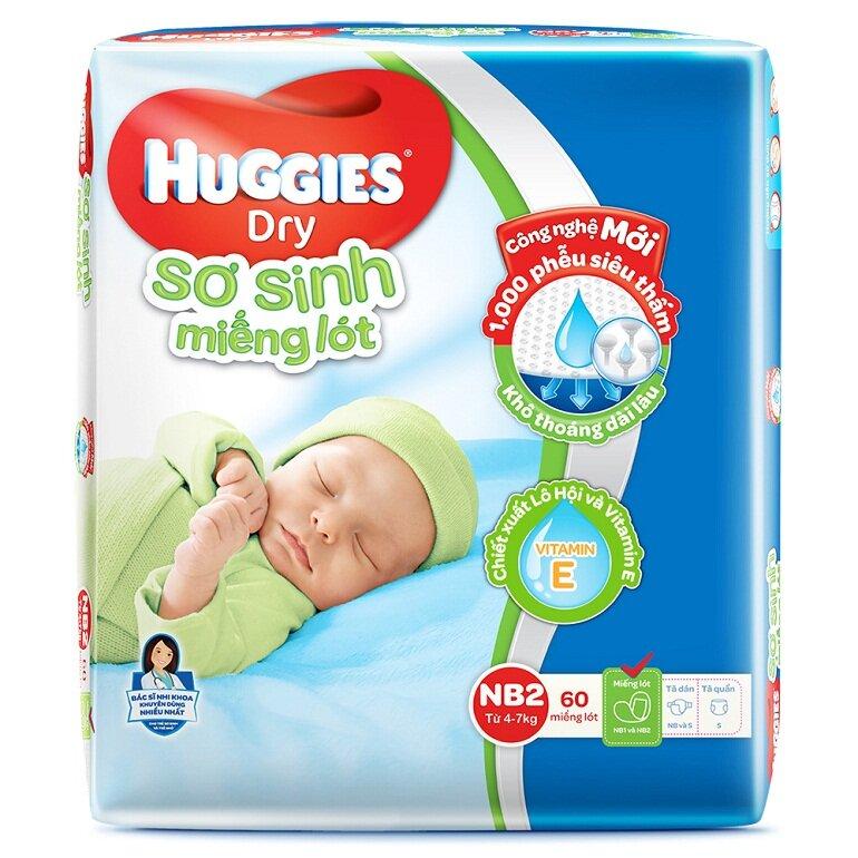 Bỉm Hugggies size M cho bé 6 -11 kg
