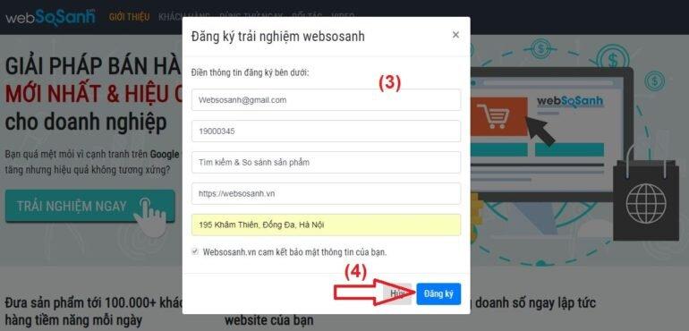 Hướng dẫn cách đưa sản phẩm lên Websosanh.vn nhanh nhất