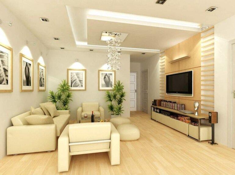 Nội thất Nhà xinh thiết kế nội thất phòng khách đẹp