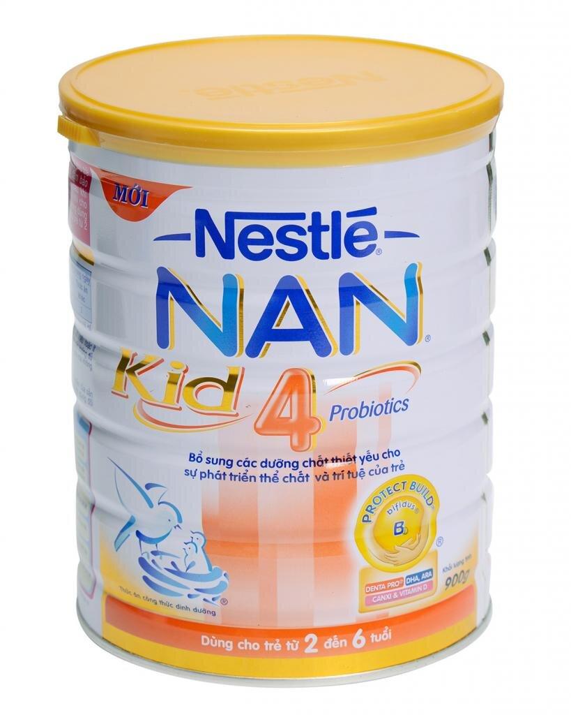 Nan Kid 4 - nguồn dinh dưỡng dồi dào cho bé trong 9 năm đầu đời
