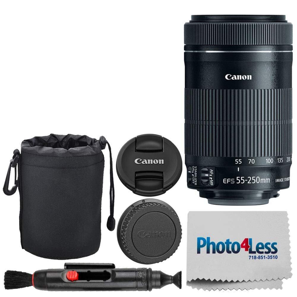 Lens Canon 55mm-250mm STM được ưa chuộng