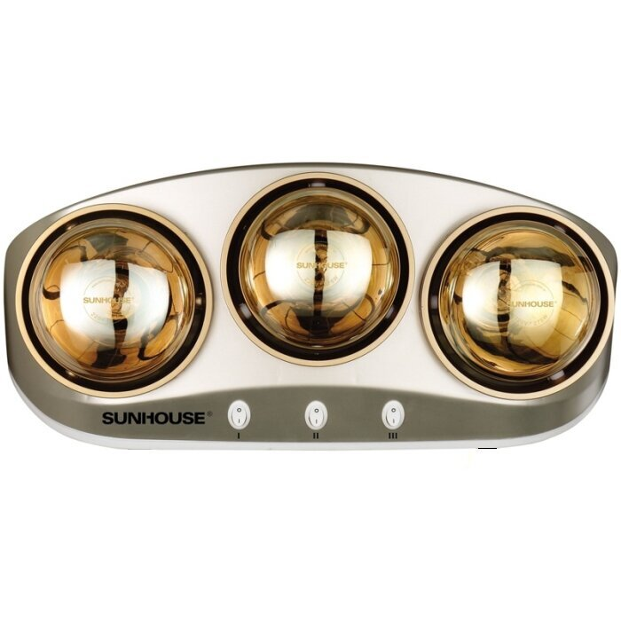 Đèn sưởi nhà tắm Sunhouse SHD3803 (SHD-3803) - 3 bóng