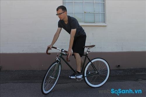 Đi thử để trải nghiệm xe đạp fixed gear