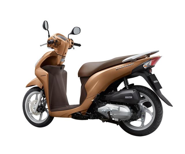 Honda Vision màu nâu