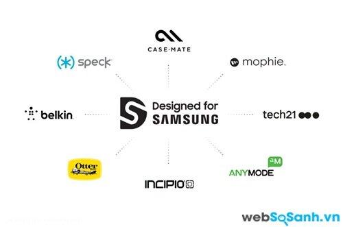 Các đối tác trong dự án thiết kế cho Samsung