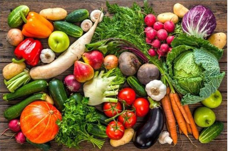 Bổ sung các loại vitamin, chất xơ rau, củ, quả