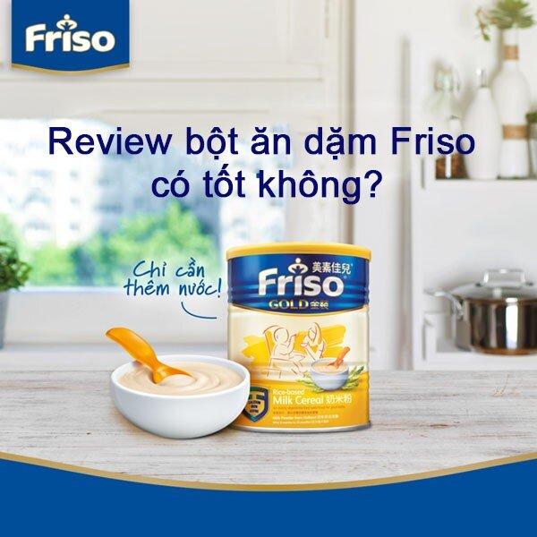 Bột ăn dặm Friso có xuất xứ từ Hà Lan