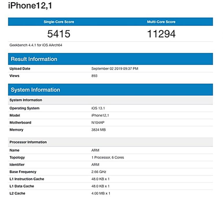 giá bán iphone 11