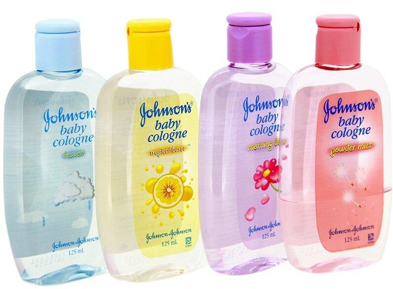 Nước hoa Johnson's baby cho bé
