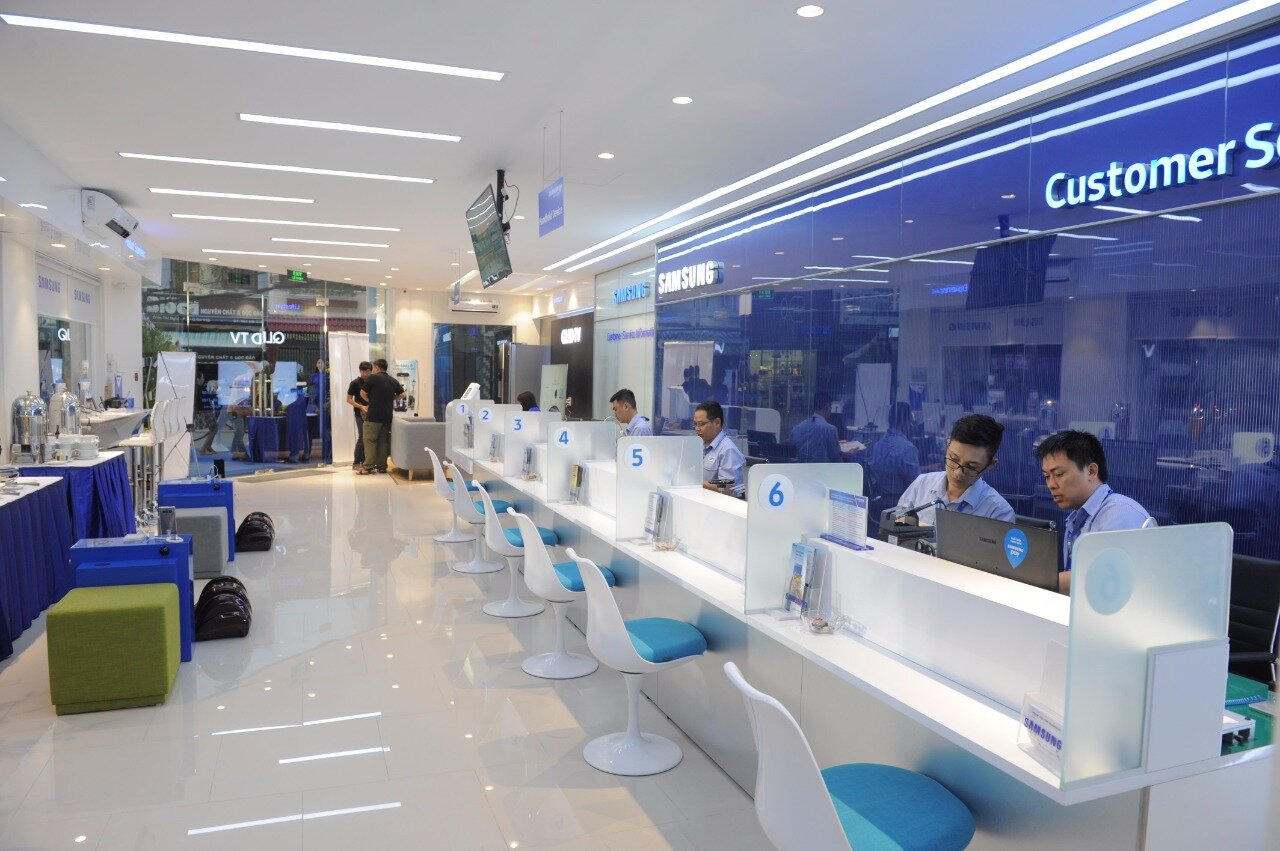 Trung tâm bảo hành Samsung tại Việt Nam