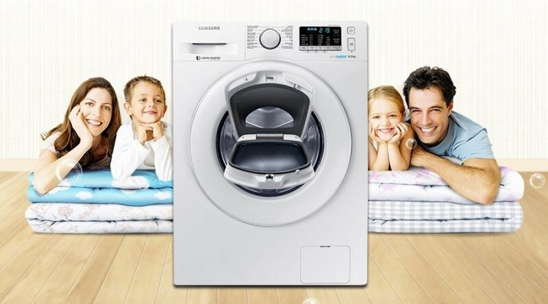 Máy giặt Samsung được kiểm tra như thế nào?