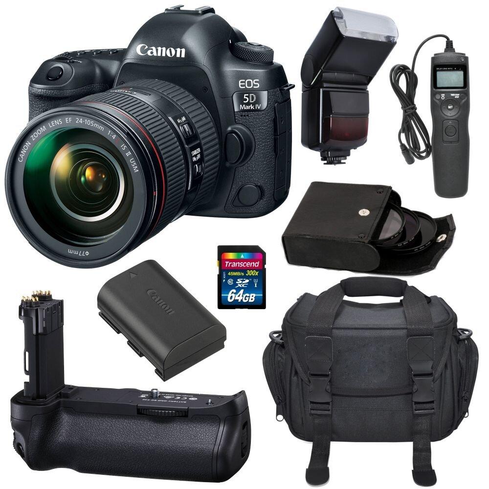 Cách quay phim bằng máy ảnh Canon EOS 5D Mark IV