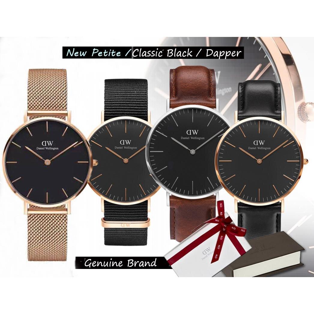 Các loại dây của đồng hồ Daniel Wellington