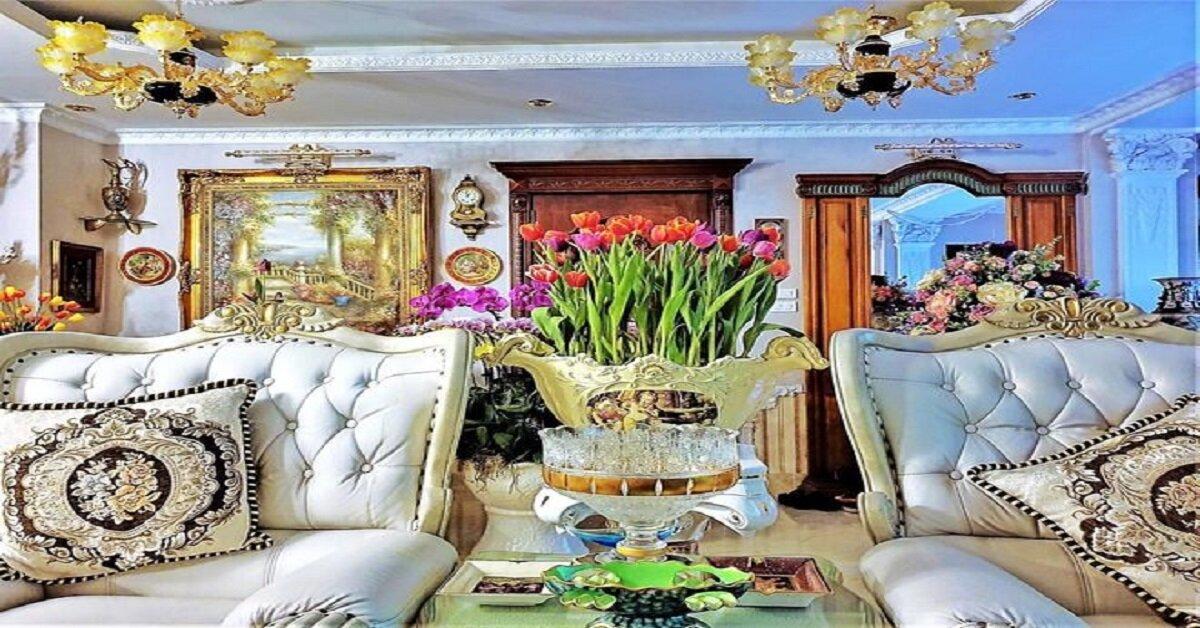 đường nét tinh xảo của nội thất Hoàng Gia