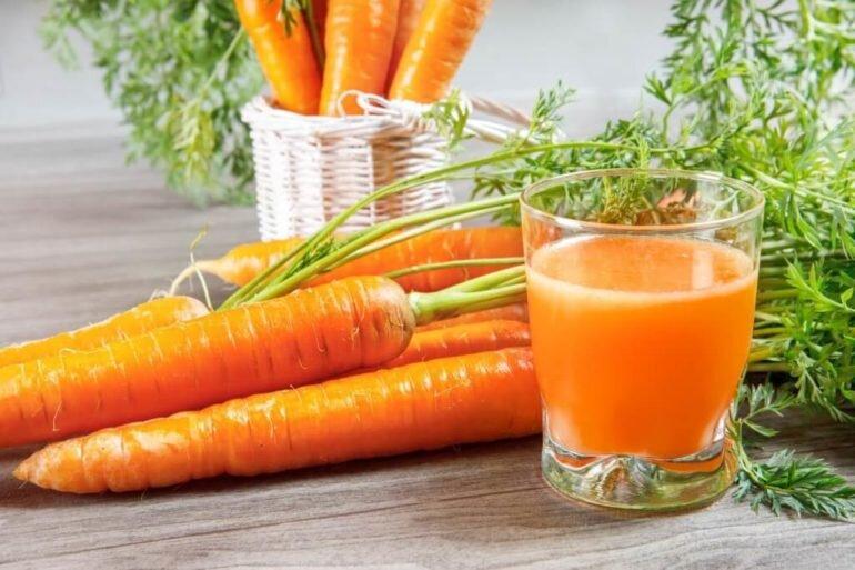 Củ cà rốt - giúp bạn loại bỏ lượng nicotine ra khỏi cơ thể hiệu quả