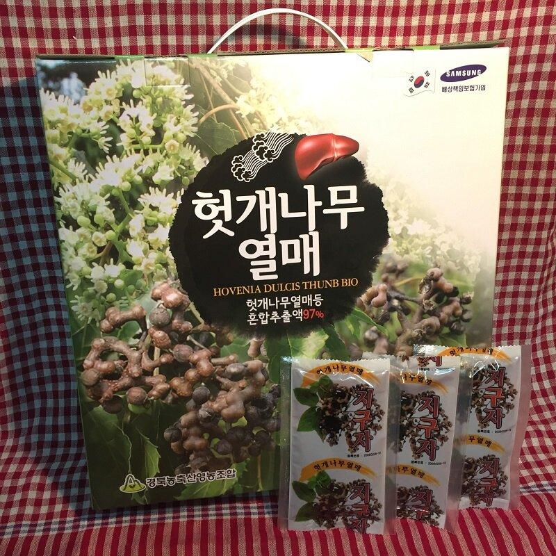 Thực phẩm chức năng bổ gan từ quả cây khúng khiếng Ganghwa Hovenia Dulcis Thunb