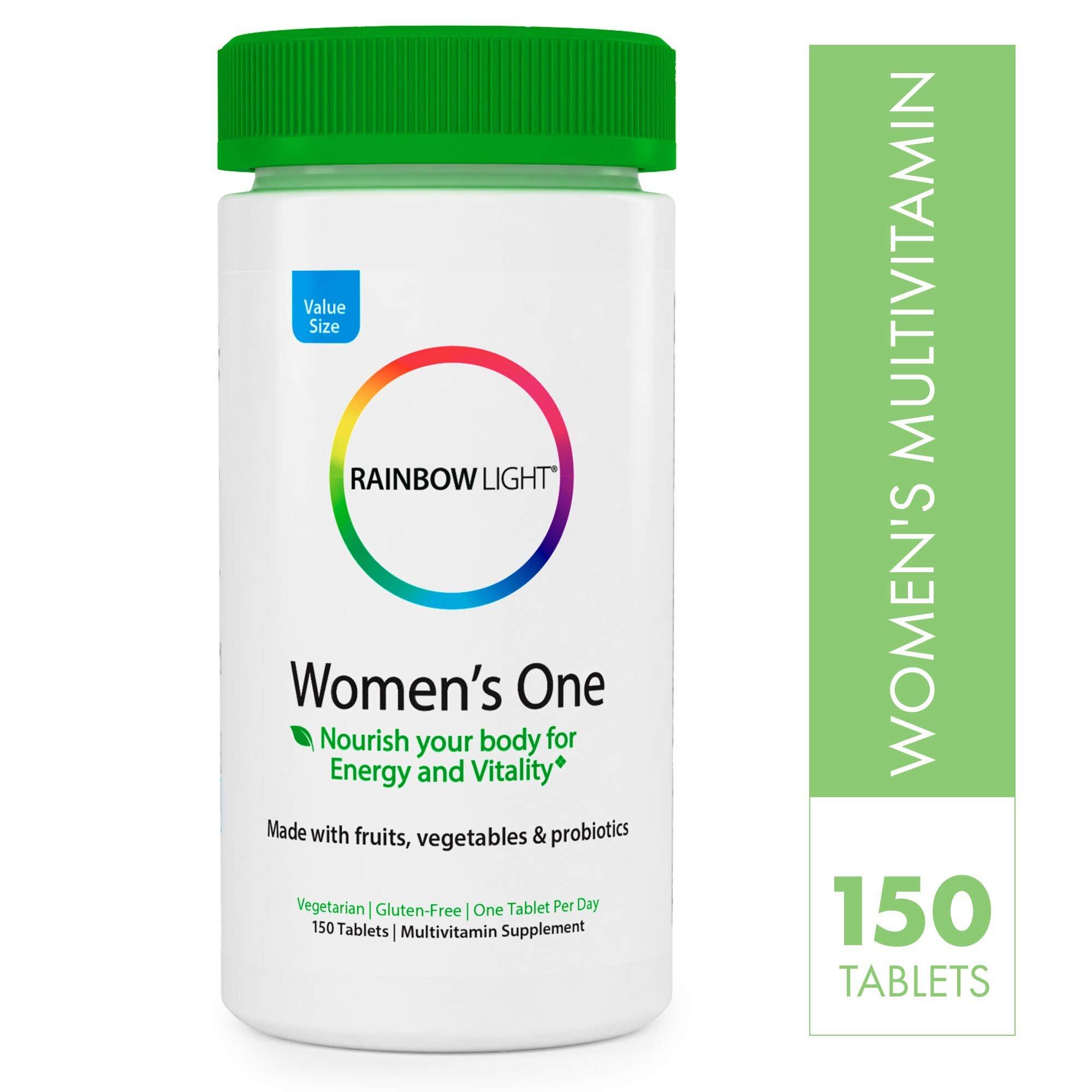 Rainbow light Women's one hỗ trợ bù đắp vitamin cho phụ nữ
