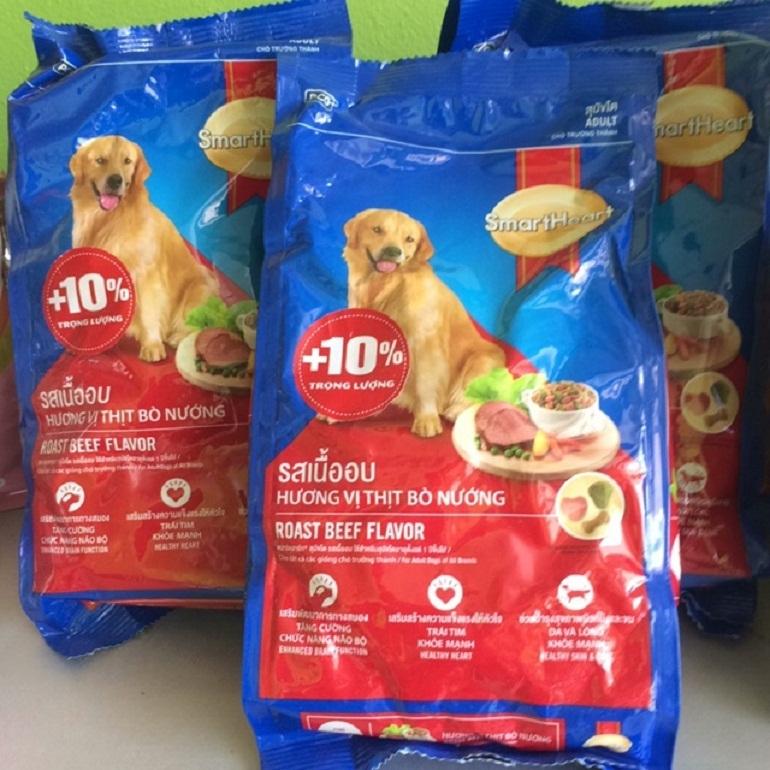 Thức ăn SmartHeart cung cấp đủ dinh dưỡng cho các chú chó phát triển khỏe mạnh