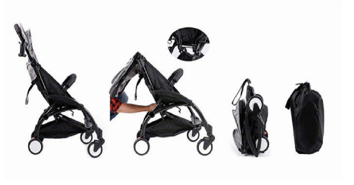 7 tiêu chí quan trọng cho bạn khi mua xe đẩy em bé gấp gọn