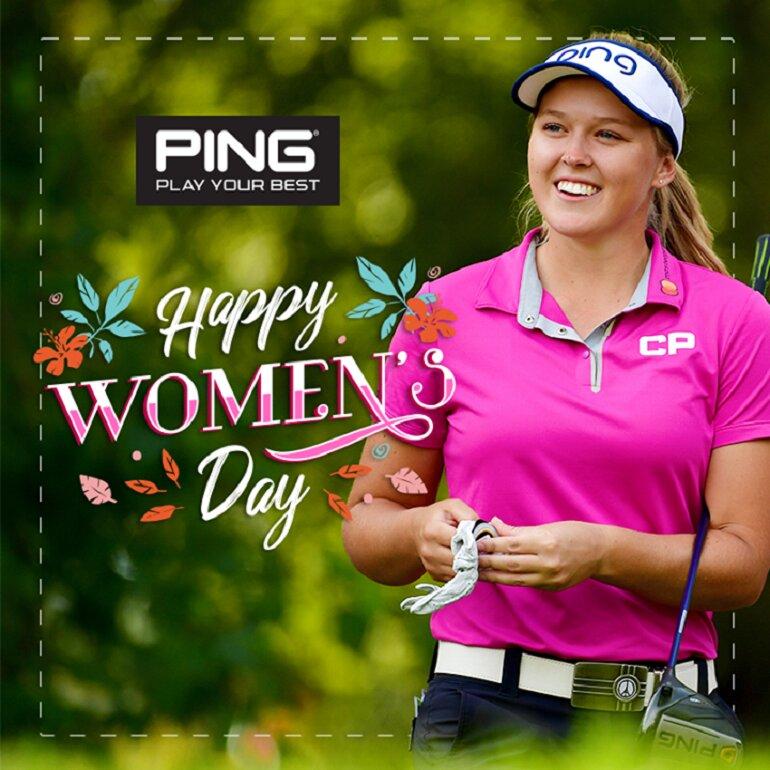 Mũ đánh golf nữ Ping