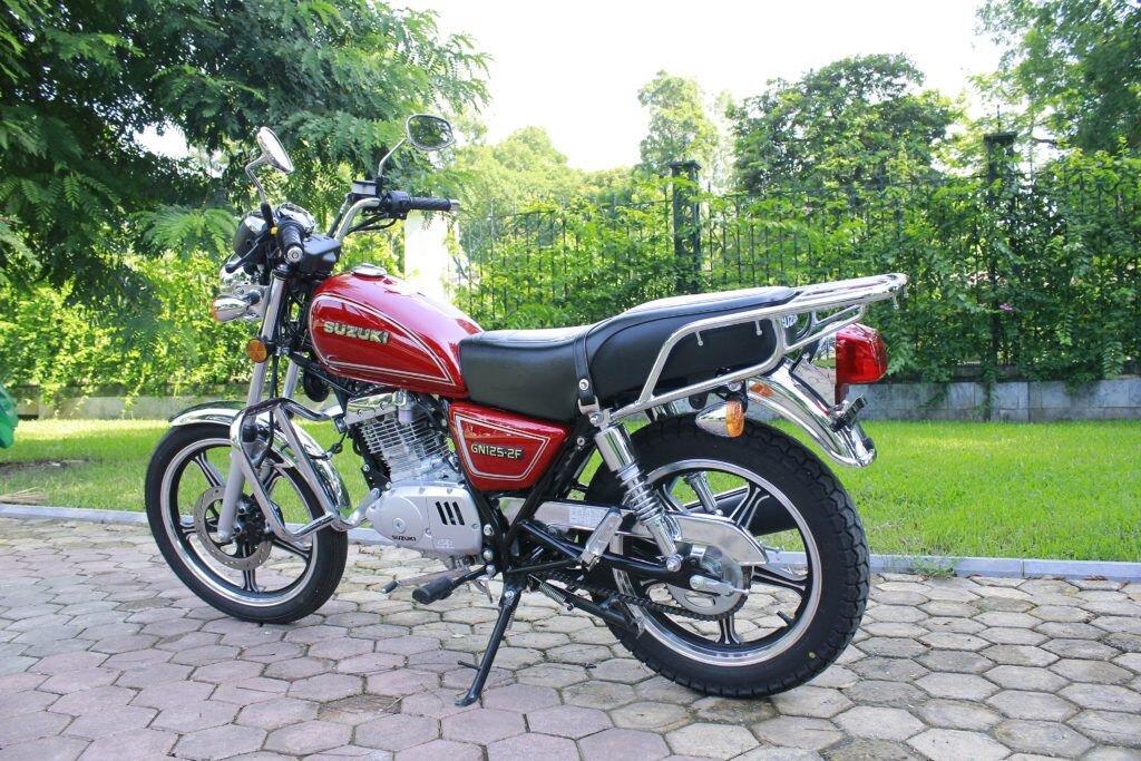 Suzuki EN 125CC vận hành mạnh mẽ, êm ái lại tiết kiệm nhiên liệu