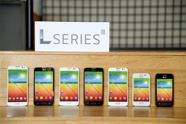 LG sắp tung bộ ba smartphone giá rẻ mới chạy Android 4.4 KitKat