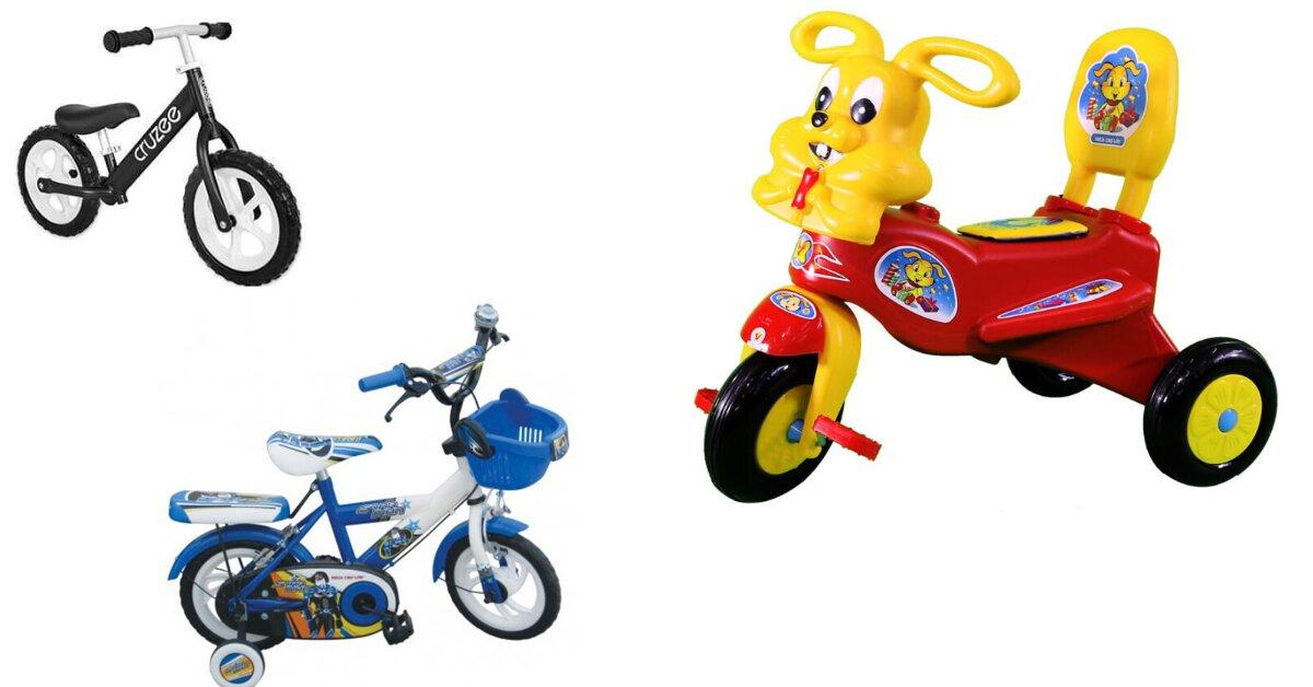 Nên chọn mua xe đạp trẻ em 2 tuổi nào tốt?