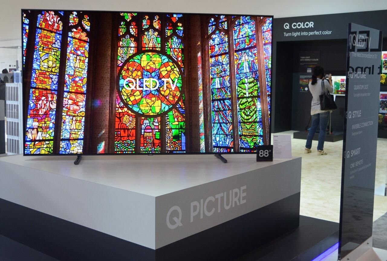 Công nghệ Quantum Dot Display hiển thị 100% màu sắc