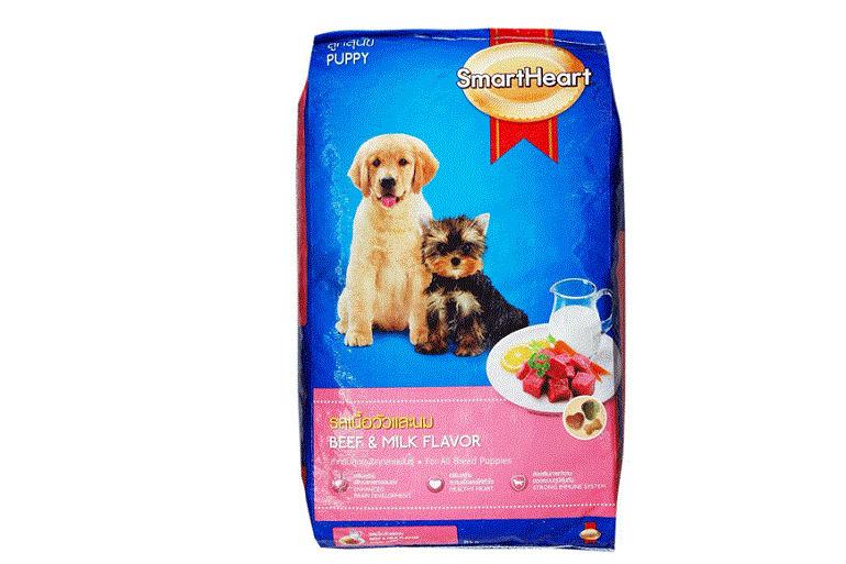 Thức ăn smartheart dành cho chó nhỏ