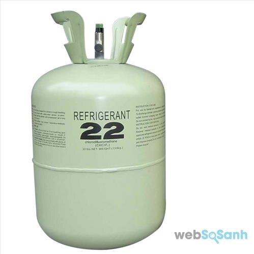 Gas R22 rất tốt cho các dòng điều hòa Daikin công nghiệp