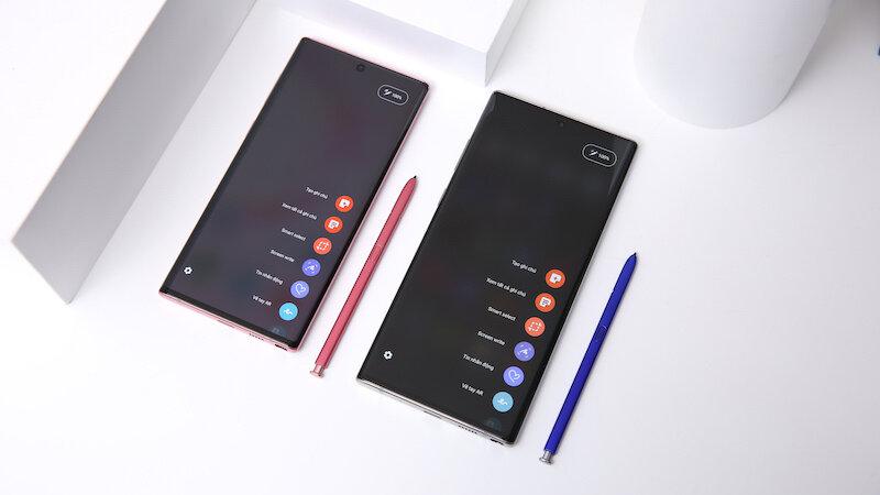 Bút S Pen đa năng dấu ấn thương hiệu Galaxy Note 10 Plus