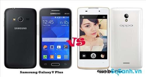 Thuộc phân khúc giá rẻ lên cả hai mẫu điện thoại đều có lớp vỏ nhựa