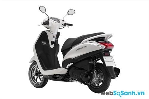 Yamaha Acruzo đang làm thị trường xe máy thêm sôi động