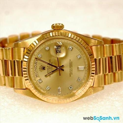 Đồng hồ Rolex chính hãng có giá từ trăm triệu trở lên