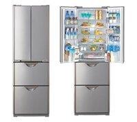 Tủ lạnh Hitachi R-SF37WVPG (PBK,ST) - 365 lít, 4 cửa